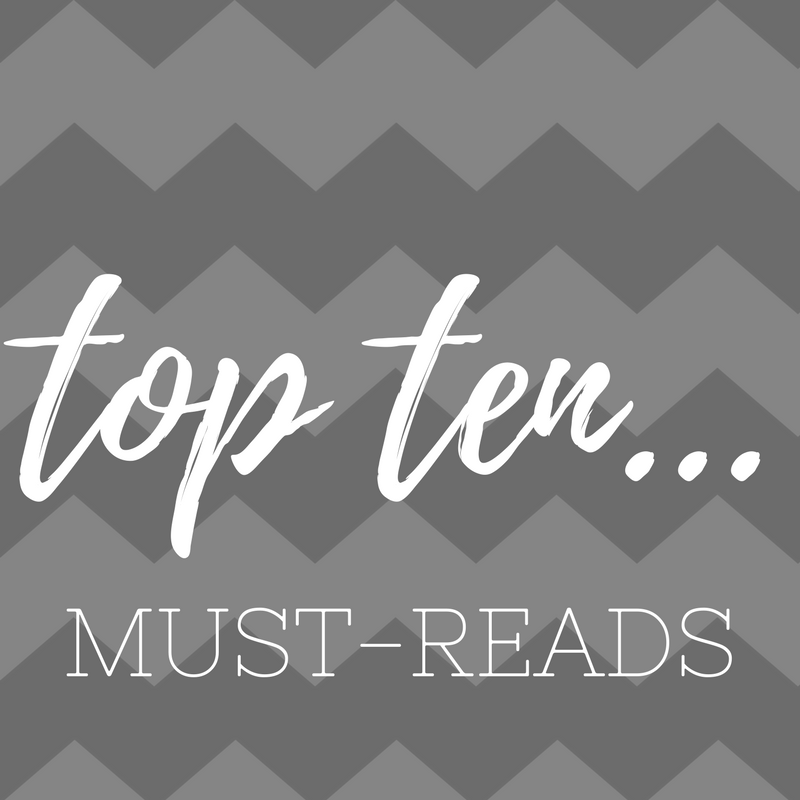 Top Ten: Must-reads • Pass the Prosecco Please