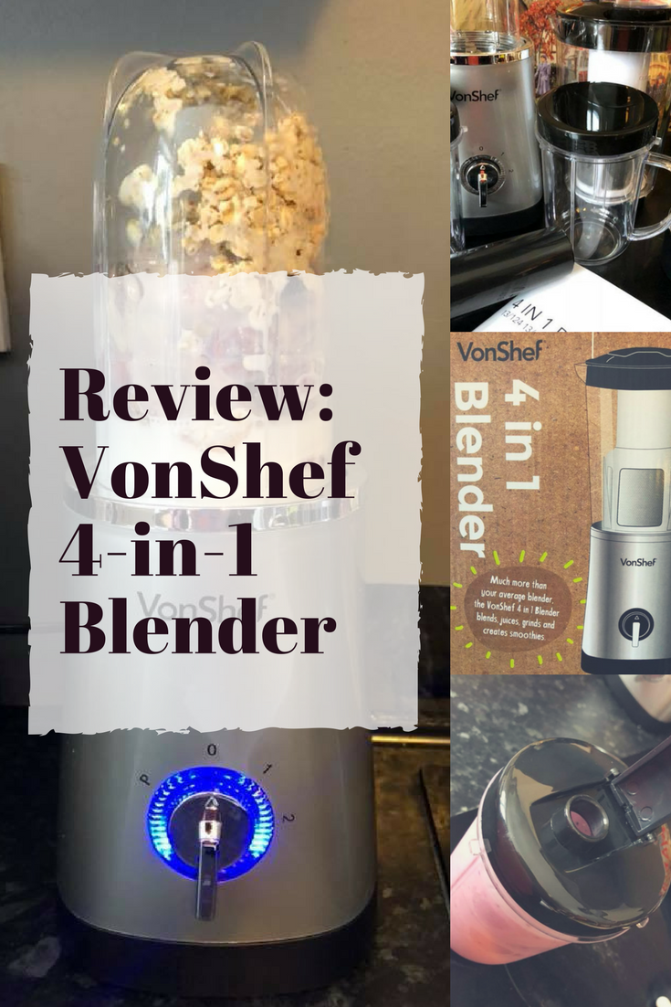 VonShef 4in1 Blender Review #smoothies #proteinshakes #juicing #healthyliving