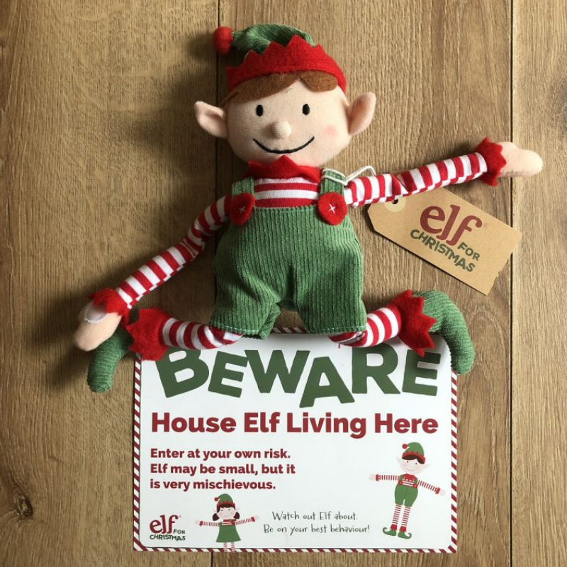 Elf for Christmas Elf on the Shelf #elffun #elfantics #elfontheshelf #anelfforchristmas